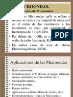 Sistemas de comunicación por Microondas