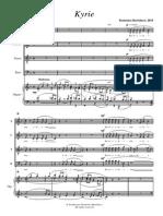 Bartolucci- Missa Brevis
