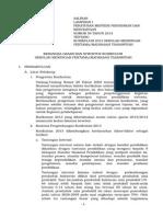 1. Lampiran Permen KUR SMP-MTs--(a)Kerangka Dasar Dan Struktur Kurikulum