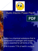 4. Power Plant Machinery - 2. Hydro Electric Power Plant