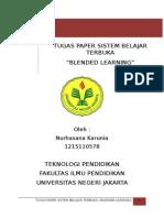 Paper Blended Learning