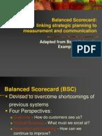 Balanced Score Card Concept
