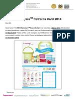 Fact Sheet No 02114_NaturCare Loyalty Card Regular 2014