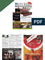 "Kuta Weekly-Edition 403 ""Bali""s Premier Weekly Newspaper"""