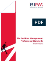 BIFM Professional Standards Framework