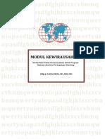 Modul Kewirausahaan -Faizal Riza - APB