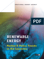 RENEWABLE ENERGY Market & Policy Trends in IEA Countries