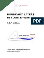 Boundary Layers 2012