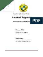 Referat Anestesi Regional
