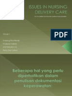 Issues in Nursing Delivery Care