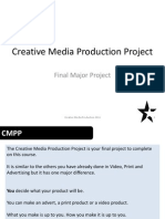 Creative Media Production Project