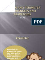 Perimeter is Always the Same, Just Add Up the Sides…….Even