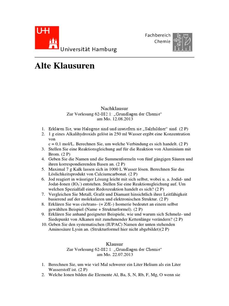 Großzügig Chemie Einheit 6 Arbeitsblatt 1 Zeitgenössisch - Super ...
