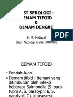 Test Widal & Dengue