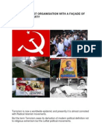 CPM-A TERRORIST ORGANISATION WITH A FAÇADE OF DEMOCRATIC PARTY   Aron
