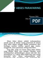 REFERAT ABSES PARAFARING