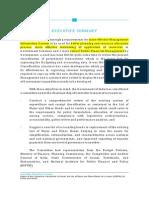 Summary Sundaramurti Committee