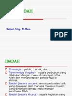 Makna Ibadah