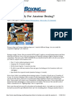 Boxing Basics How to Box Are You Re