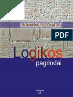 R. Plečkaitis - Logikos pagrindai, 2009