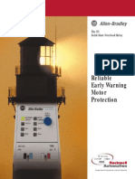 Reliable Early Warning Motor Protection