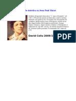 Scheda Sintetica Su Jean-Paul Marat