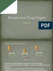 0Receptors as Drug Targets Ch 8