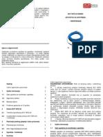 Uputstvo Grejni Kablovi Na Metar BVF WFD 20 Instalation Manual SRB
