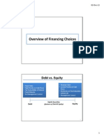 10_Overview of Financing Choices