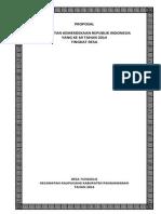 Proposal Agustusan 2014