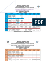 Horarios Ingenieria de Sistemas 2014-2 03-09-14
