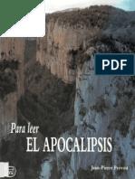 Prevost Jean Pierre - Para Leer El Apocalipsis
