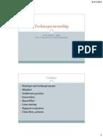 Technopreneurship Introduction