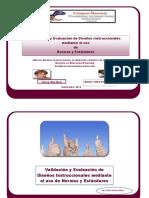 Evaluacion y Validacion en Ambientes Virtuales de Aprendizaje