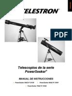 Manual Celestron 60