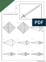 Narsil Sword Diagram
