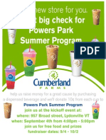 Powers Park and Cumberland Farms
