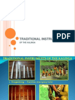 Kalinga's Traditional Instruments