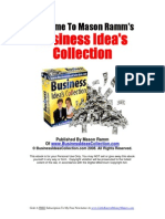 Business Ideas Collection
