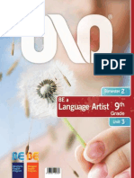 Be a Language Artist 2bim u3 9th Std Bj