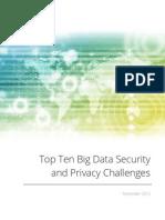 Big Data Top Ten v1