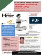 Master Experto en Gimnasia Abdominal Hipopresiva Dr. Marcel Caufriez