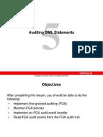 Audit DML Statements