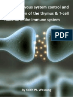 066ad Central Nervous System Control and Coordination of the Thymus