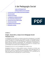 Manual Pedagogia Social