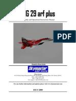 Mig 29 Manual