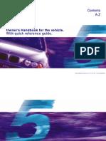60087013 1999 BMW E39 5 Series Owner s Handbook
