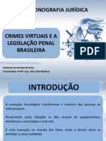 Slides - Crimes Virtuais - OfICIAL