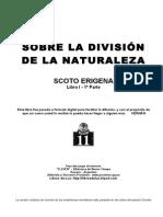 55679974 SCOTO ERIGENA Sobre La Division de La Naturaleza