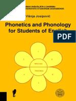 Phonetics and Phonology for Students of English - Visnja Josipovic